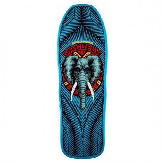 Powell Peralta Vallely Elephant Blue Plateau Skateboard