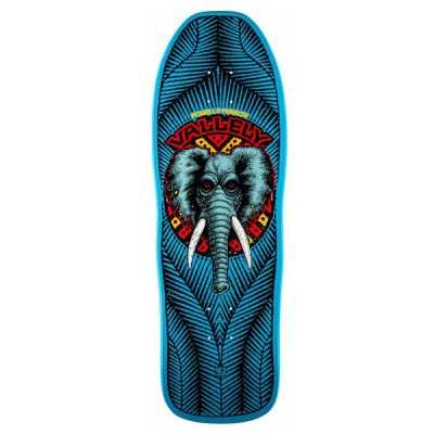 Powell Peralta Vallely Elephant Blue Skateboard Deck