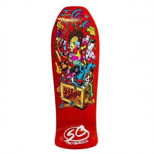 """Santa Cruz Grosso Toybow 10"""" Orange Skateboard Deck"""