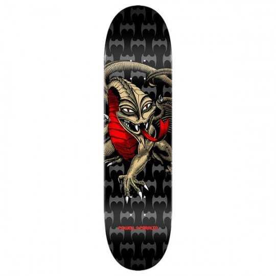 "Powell Peralta Cab Dragon PP 7.75"" Black/Gold Plateau Skateboard"