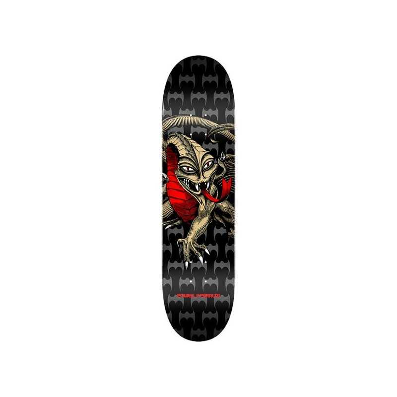 "Powell Peralta Cab Dragon PP 7.75"" Black/Gold Plateau Skateboard"