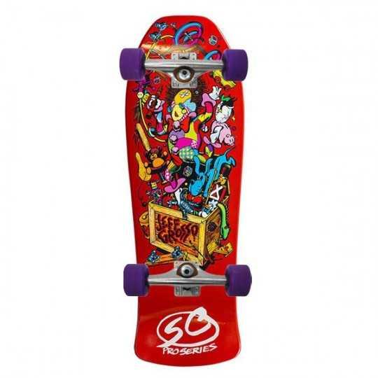 """Santa Cruz Grosso Toybox 10"""" Skateboard Deck"""