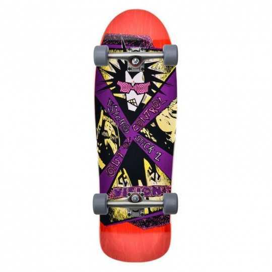 Vision Psycho Stick 2 Red Skateboard Complet