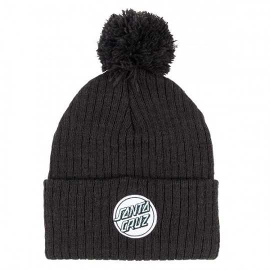 "Santa Cruz ""Dot"" Black Womens Beanie"