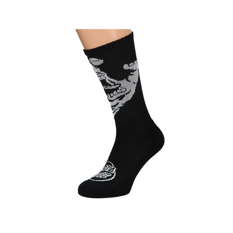"Santa Cruz ""Screaming Hand Mono"" Black Men's Socks"