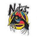 "Santa Cruz Natas Evil Cat 3"" Sticker"