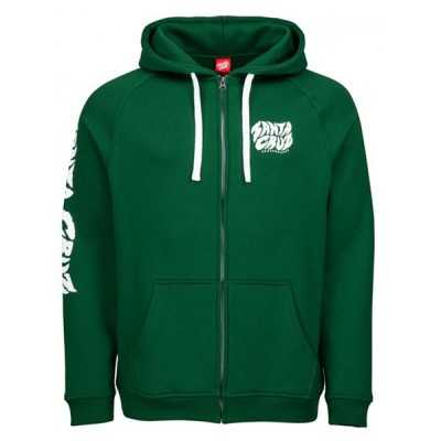 Santa Cruz Surge Forest Sweat Zippé à capuche