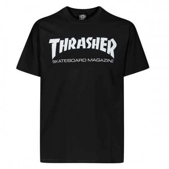 Trasher Skate Mag Noir Tee Shirt Enfant