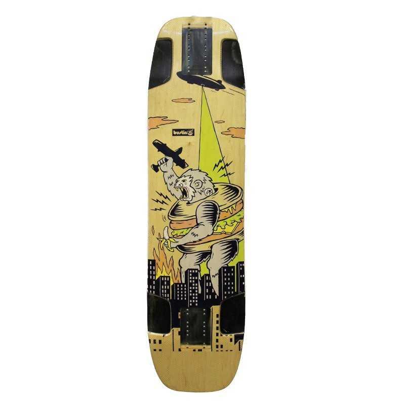 "Bustin Royce Pro (E)Core ""King Kong"" Longboard Deck"