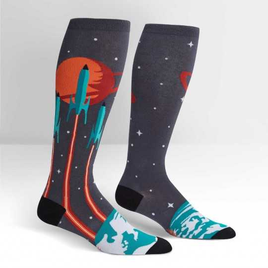 "Sock It To Me ""Launch From Earth"" Chaussettes Mi-bas Stretch-It"
