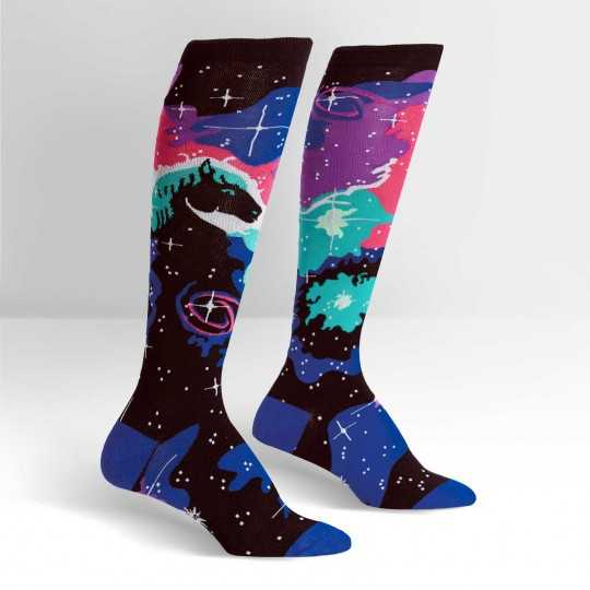 "Sock It To Me ""Horsehead Nebula"" Knee-high Socks"