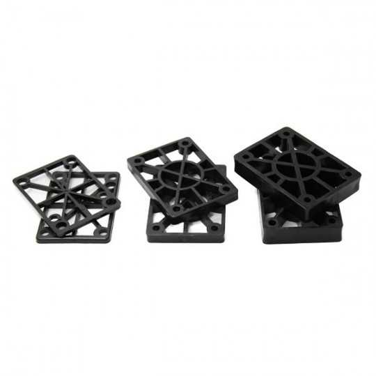 Hard Flat Risers Pads(Paire)