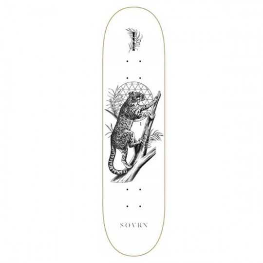 "SOVRN Felis 8"" LC Skateboard Deck"