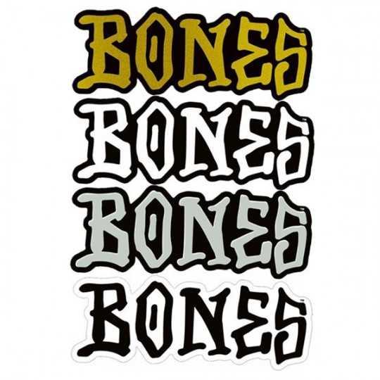 """Bones 5"""" Bones Autocollant"""