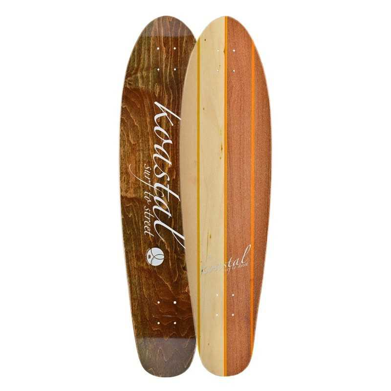 "Koastal Two Face 37"" Longboard Deck"
