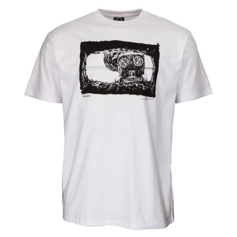 "Independent ""Mofo Death Box"" Tee Shirt Blanc"