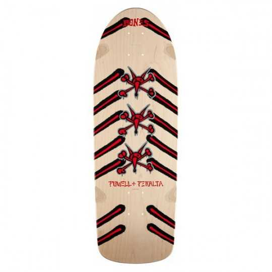 "Powell Peralta Rat Bones 10"" Natural Skateboard Deck Skateboard"