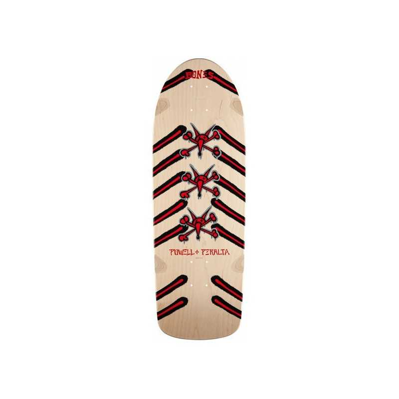 "Powell Peralta Rat Bones 10"" Natural Plateau Skateboard"