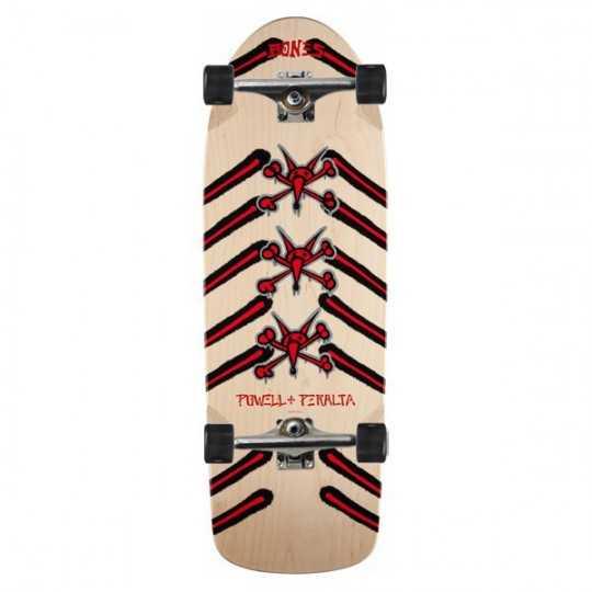 "Powell Peralta Rat Bones 10"" Natural Complete Skateboard"