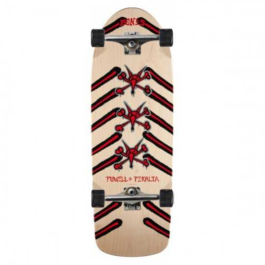 "Powell Peralta Rat Bones 10"" Natural Skateboard Complet"