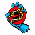 "Santa Cruz Screaming Hand Dot 6"" Autocollant"