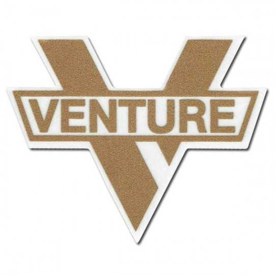 "Venture ""V Logo"" Sticker 15x12cm"