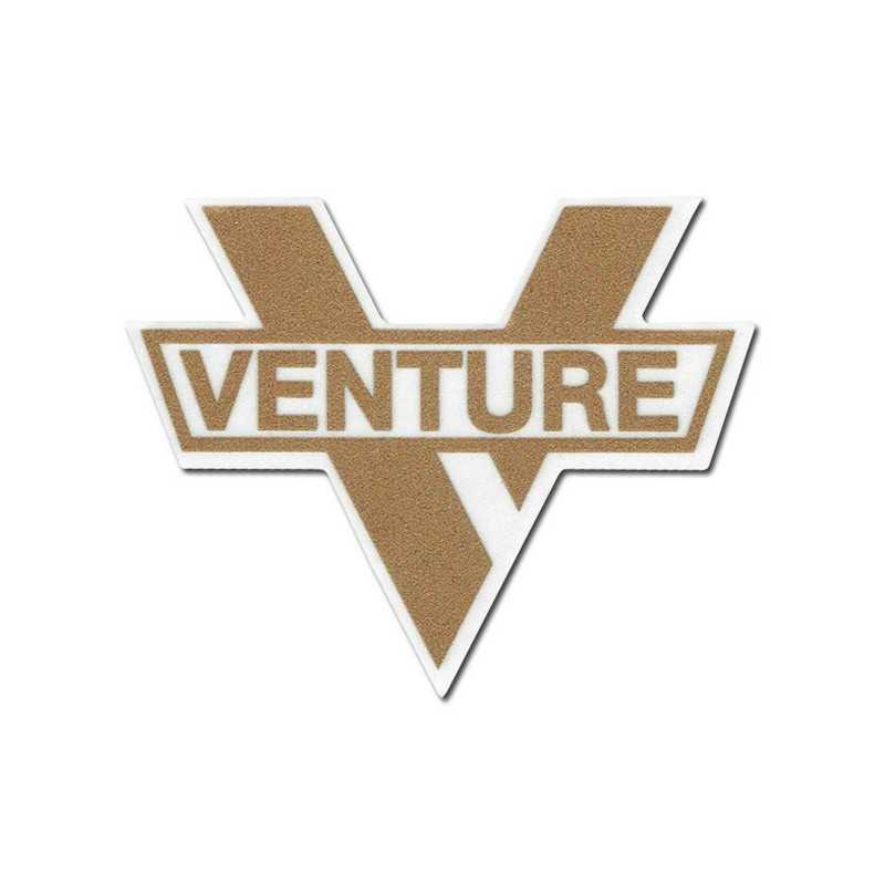 "Venture ""V Logo"" Autocollant 15x12cm"