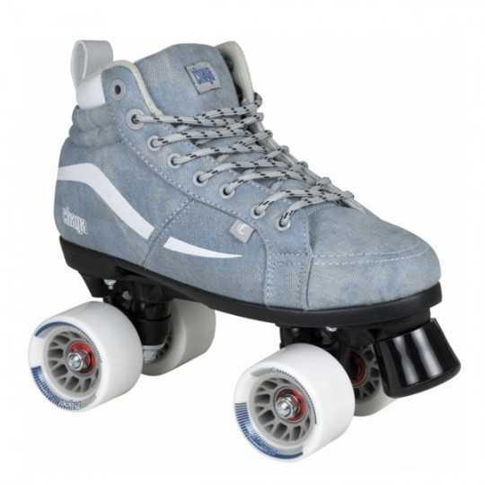 Chaya Vintage Glide Denim Roller Quads