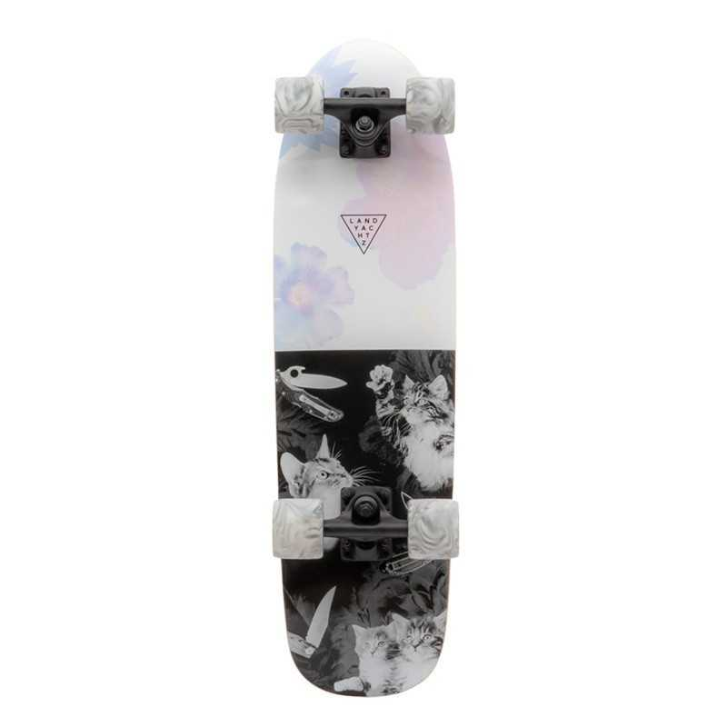 "Landyachtz Dinghy Cat Fight 28.5"" Cruiser Skateboard"