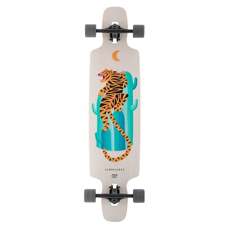 "Landyachtz Drop Carve 40"" Desert Tiger Longboard Complet"