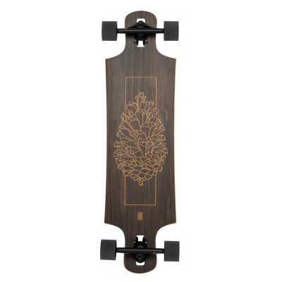 """Landyachtz Drop Hammer 36.5"""" Walnut Longboard Complet"""
