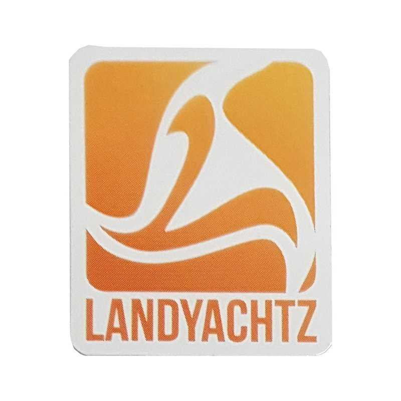 "Landyachtz ""Square Logo"" Orange Sticker"