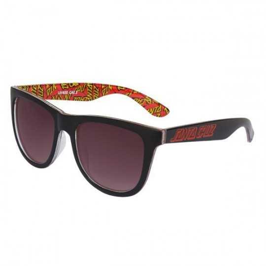 Santa Cruz Multi Classic Dot Black Sunglasses