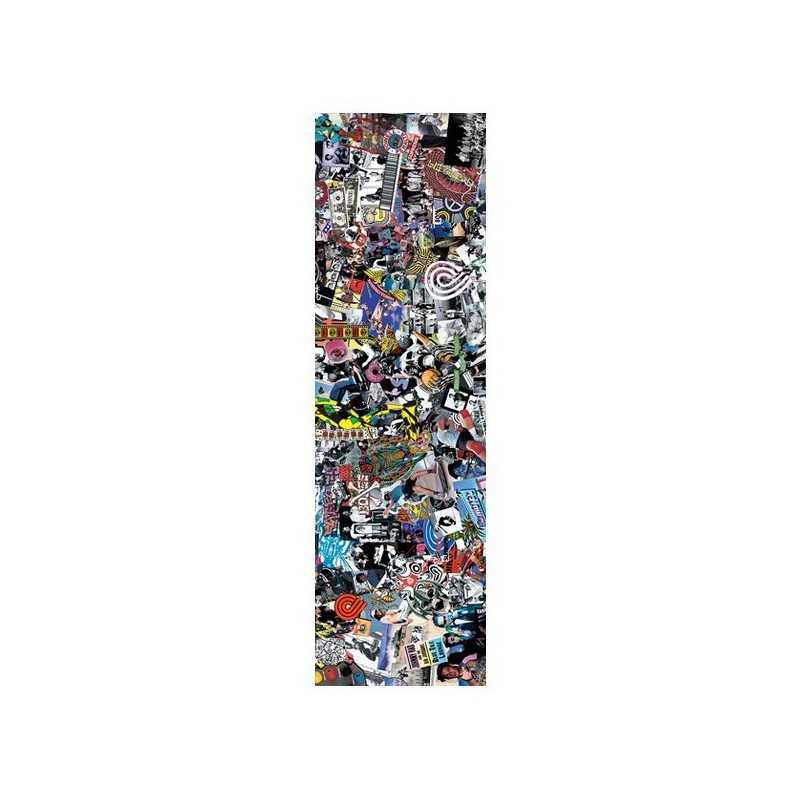 "Powell Peralta Collage 9""x33"" Skateboard Griptape"