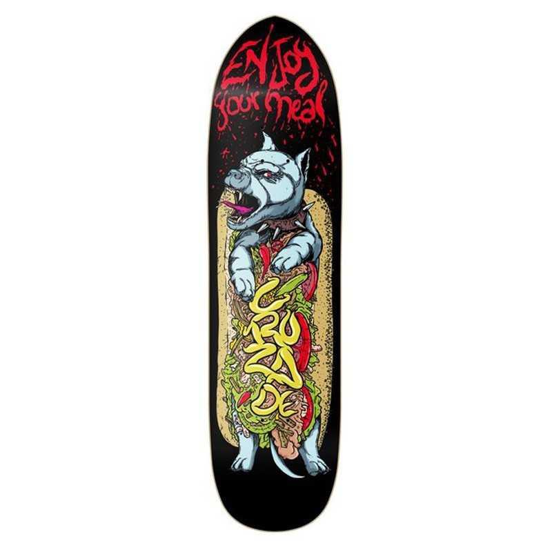 "Cruzade Hotdog 8.5"" Plateau Skateboard"