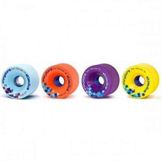 Orangatang Stimilus 70mm Longboard wheels