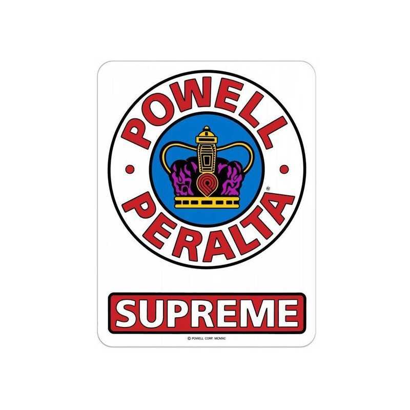 """Powell Peralta Supreme 6"""" Autocollant"""