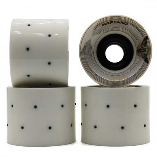 Harfang Absolute 73mm Roman Candle Longboard Wheels