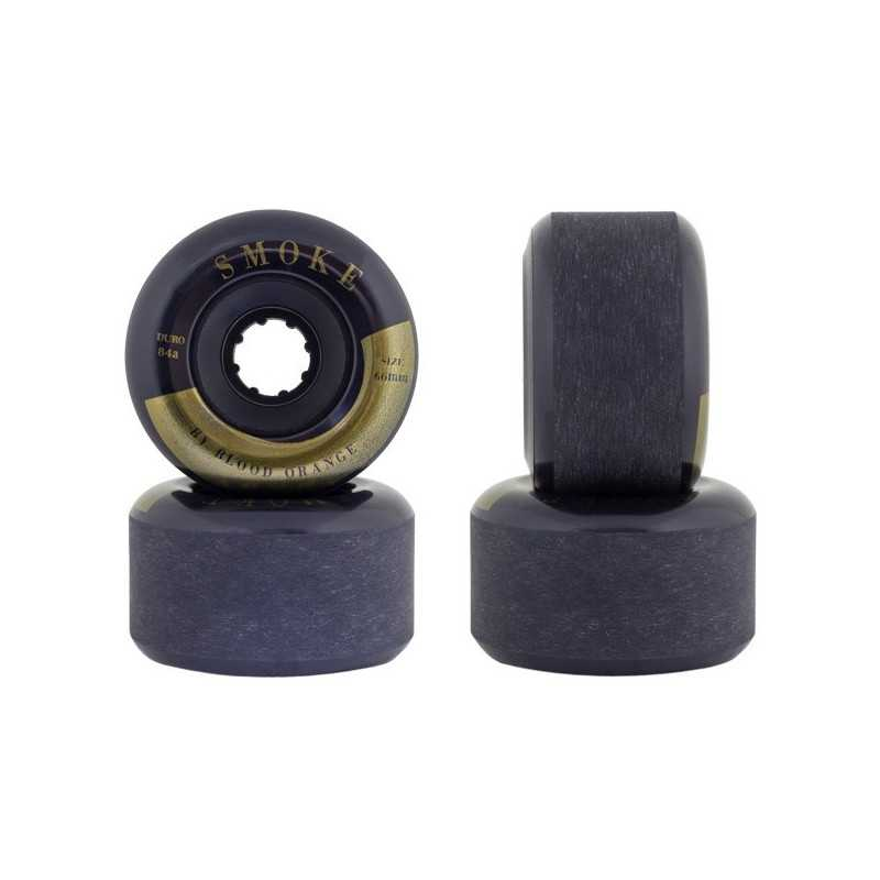 Blood Orange Smoke 66mm Longboard Wheels