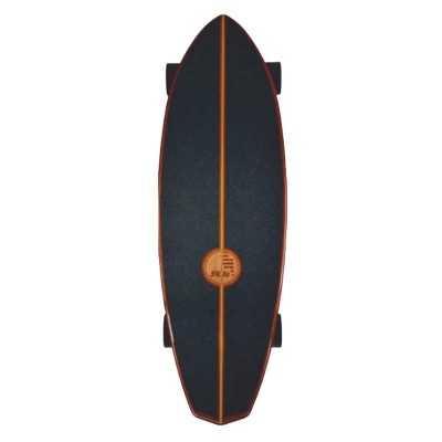 """Slide Diamond 32"""" Koa Surfskate"""