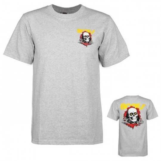 Powell Peralta Ripper Grey Tee shirt