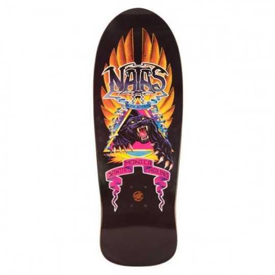 """Santa Cruz Natas Panther X Edmiston 10.53"""" Plateau Skateboard"""