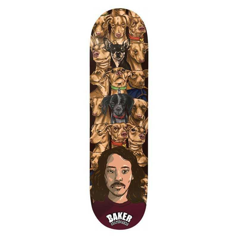 """Baker Dee Isle of Dobbs 8"""" Skateboard Deck"""