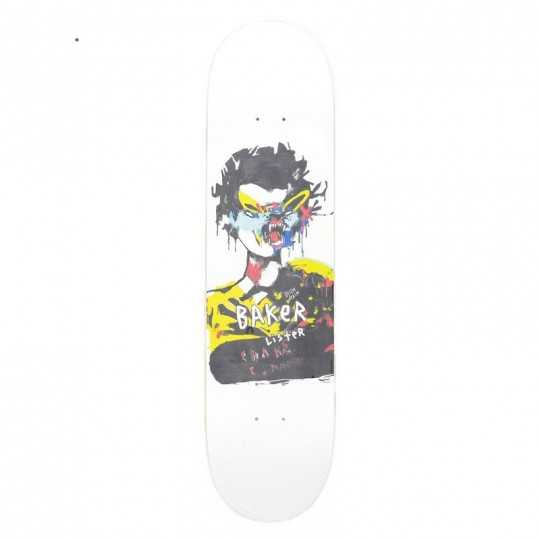 "Baker DD Lister 8"" Plateau Skateboard"