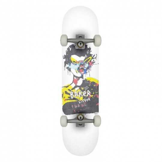 """Baker DD Lister 8"""" Complete Skateboard"""