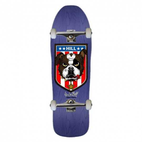 "Powell Peralta Hill Bulldog 10"" Purple Complete Skateboard"
