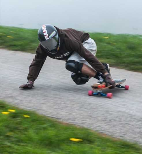 Longboards descente freeride