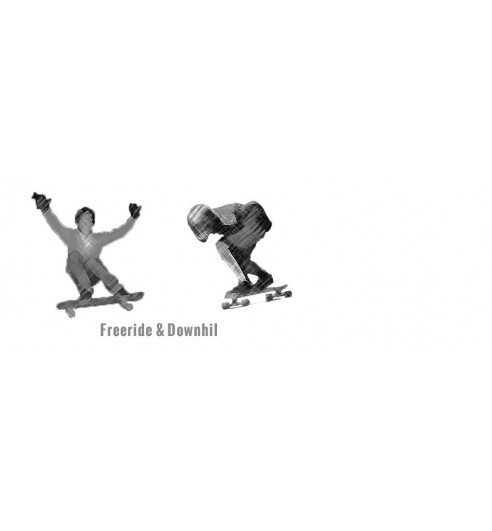 Freeride Downhill Setups