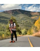 Complete longboards for long distance pushing