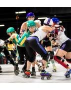 Roller skates & Roller derby equipments